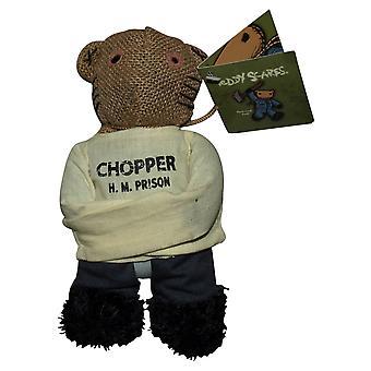 """Teddy Scares Chopper Read 8"""" Bear"""