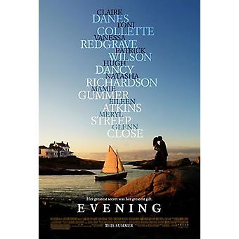 Abend (Doppelseitige regelmäßige) Original Kino Poster