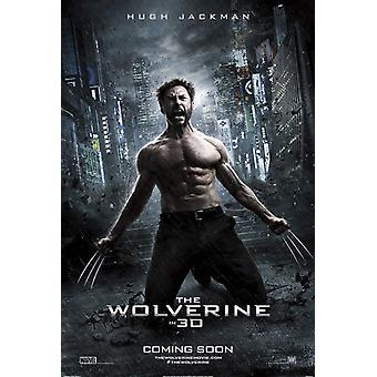 The Wolverine Poster Double Sided Advance Style C - Rare (2013) Original Cinema Poster