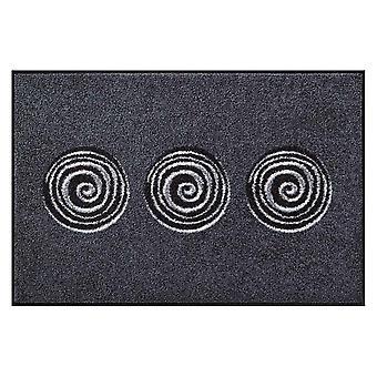 Salon lion foot mat washable Finn anthracite 50 x 75 cm SLD0875-050 x 075