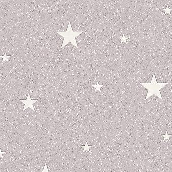 Glow in the Dark Stars behang als creatie
