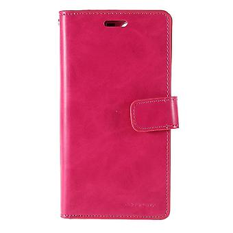 iPhone 11 Mercury Goospery Mansoor Wallet Case-Rose