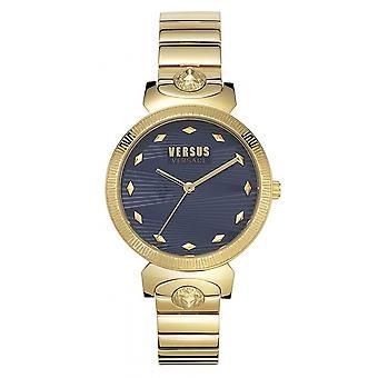 Versus Versace VSPEO0619 Women's Marion Gold Tone Wristwatch
