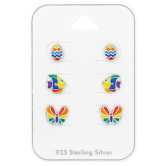 Colorful - 925 Sterling Silver Sets - W38724x