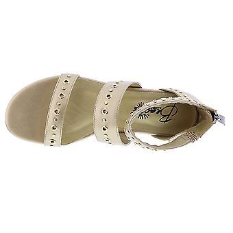 Beacon Womens Jillian Open Toe Casual Strappy Sandals