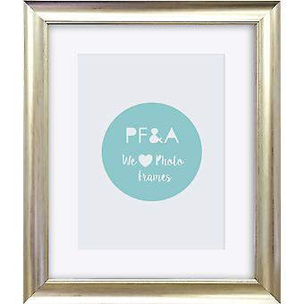 Silver Photo Frame Wall Mounted Large Poster Picture Falmouth Modern