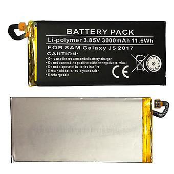 GSM Li-Polymer Phone Battery for Samsung Galaxy J5 J530F 2017 3000mAh Battery Replacement Accessories