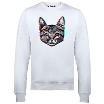 3D katt mens tröja