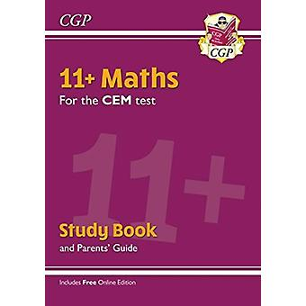 New 11 CEM Maths Study Book with Parents Guide  Online E