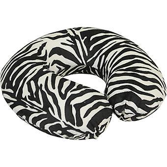 Aidapt nekkussen reiskussen - memoryfoam zebra print