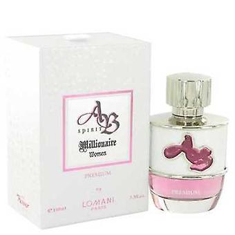 Ab Spirit Millionaire Premium By Lomani Eau De Parfum Spray 3.3 Oz (women) V728-517666