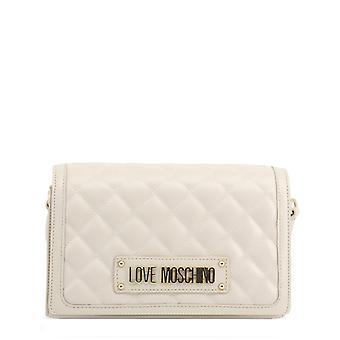 الحب موسكينو المرأة & أبوس؛s حقيبة كروسبودي - jc4002pp18la، أبيض