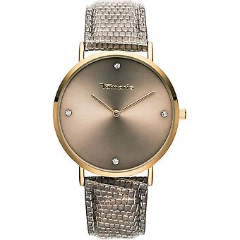 Tamaris - wristwatch - Berit - DAU 40mm - gold - ladies - TW071 - gold brown silver
