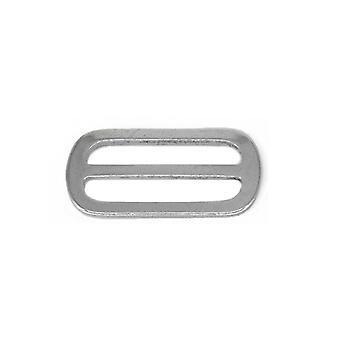 Tri-glide Metal Slider Buckle