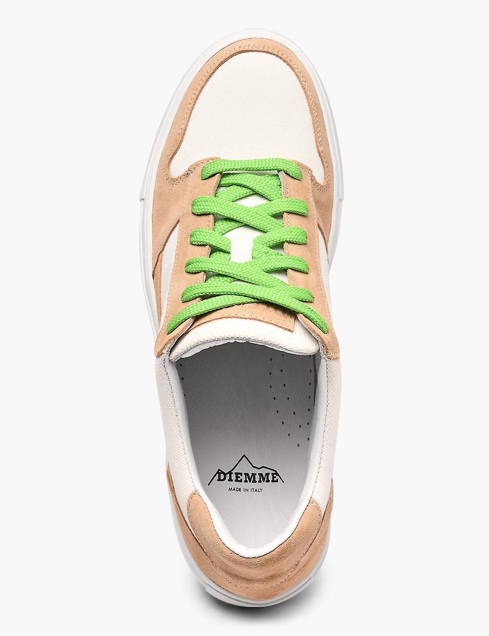 Brenta Beige Suede Low Sneakers