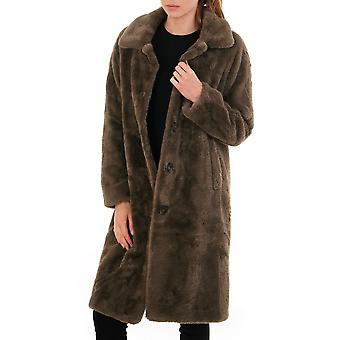 Rino & Pelle Zonna Faux Fur Long Coat