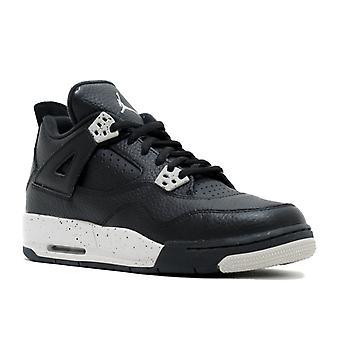 Air Jordan 4 Retro Bg (Gs) 'Oreo' - 408452-003 - Shoes
