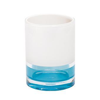 Tatkraft, Topaz Blå - Plastglass