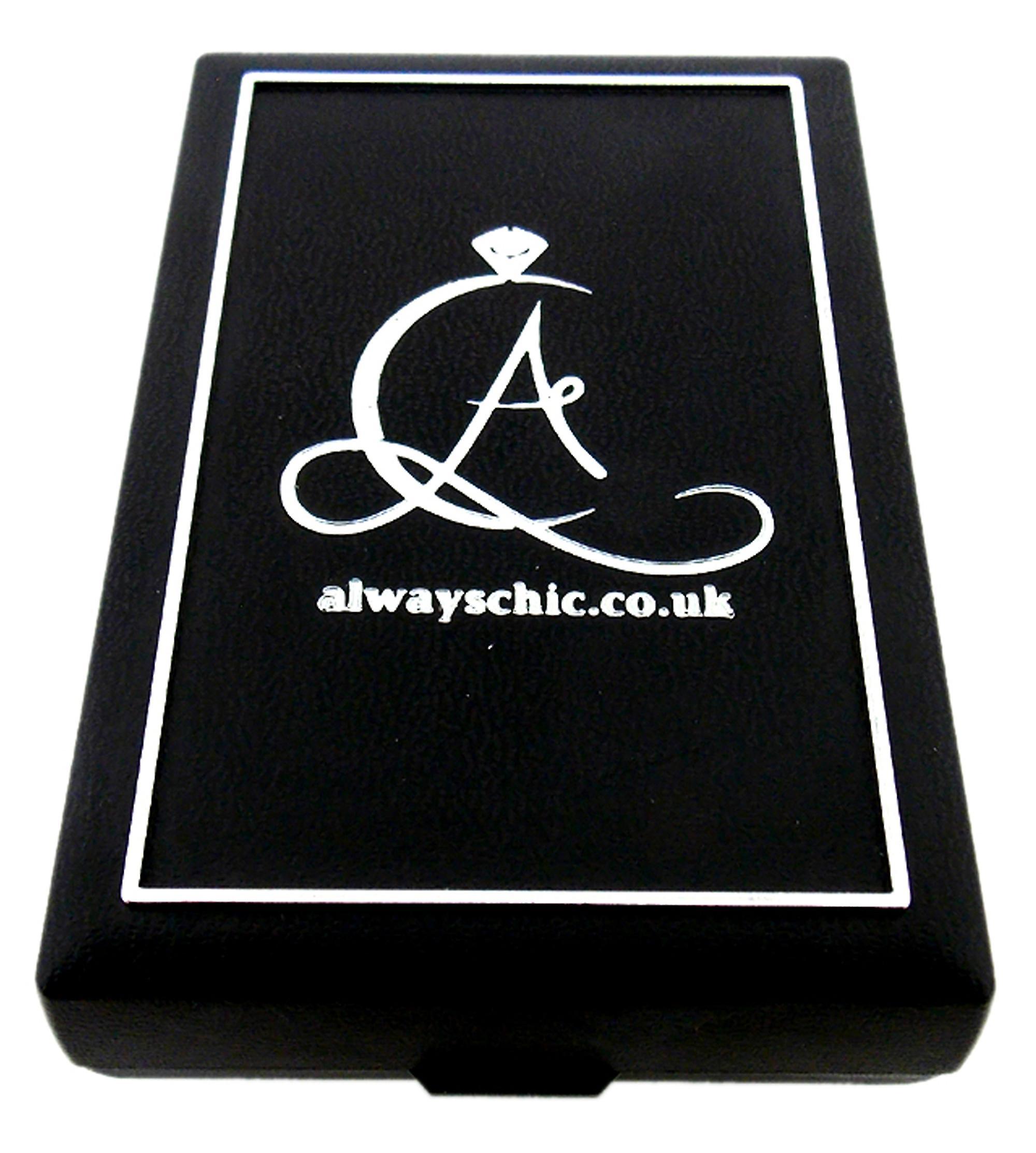 Silver Diamante Arch Design Bracelet