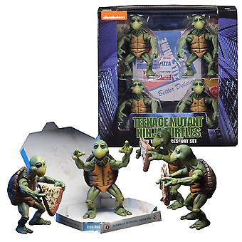 Teenage Mutant Ninja Turtles 1990 Baby Turtles 1:4 Fig Set