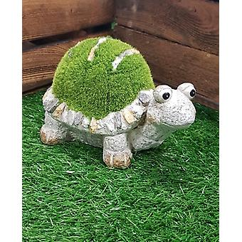 Kent Collection Tommy The Turtle Flocked Medium Garden Ornament
