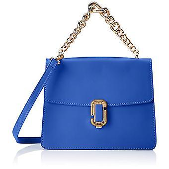 Chicca Bags 8679 Blue Women's Handbag (Blue) 24x19x8 cm (W x H x L)