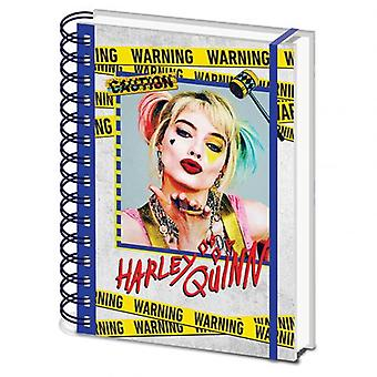Birds Of Prey Notebook Harley Quinn