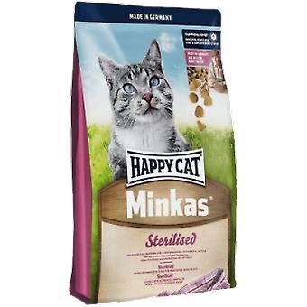 Happy Cat Sterilized Cat Food Minkas (Cats , Cat Food , Dry Food)