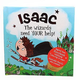 Geschichte & Heraldik magischen Namen Storybook - Isaac