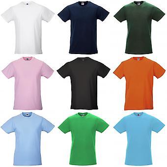 Russell Mens slanke Short Sleeve T-Shirt