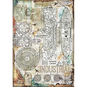 Stamperia Rice Paper A4 Industrial