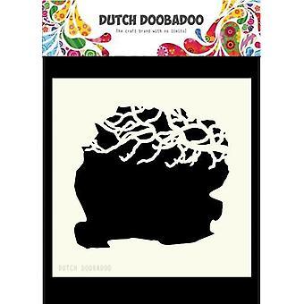 Dutch Doobadoo Dutch Mask Art 15x15cm Tree Branches 470.715.606 15x15cm