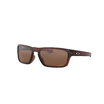 Oakley Sliver Stealth OO9408 02 Polished Rootbeer/Prizm Sunglasses