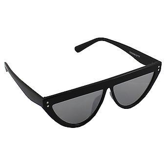 Sunglasses Ladies Flat - Black Reflecterend2777_3