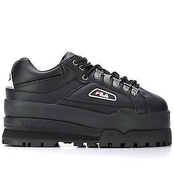 Trail Blazer Wedge Black Sneakers