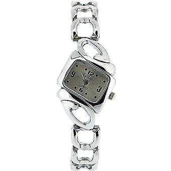 The Olivia Collection Ladies Silvertone Dial Armband Strap Dress Watch COS01