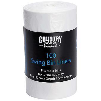 Country Range Swing Bin Liners 46L