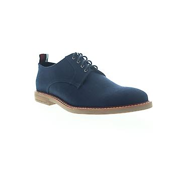 Ben Sherman Brent plain toe miesten sininen kangas low top oxfords kengät