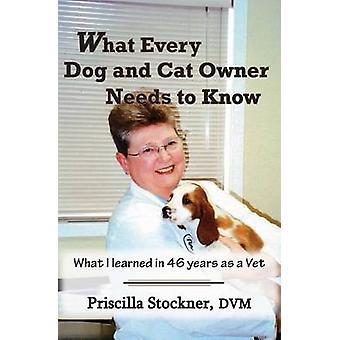 What Every Dog and Cat Owner Needs to Know What I Learned in 46 Years as a Vet by Stockner & Priscilla K.