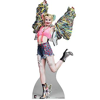 Harley Quinn Happy Butterfly Official Birds of Prey Lifesize Cardboard Cutout / Standee