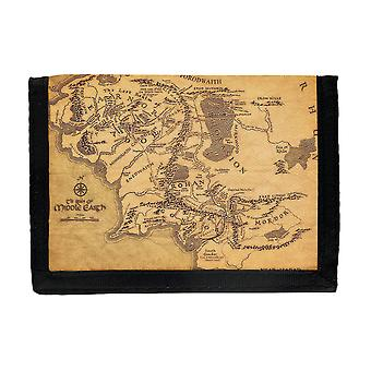 Middle Earth Map Wallet