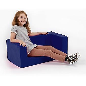 Pink Girls Kids Children's Comfy Chair Småbarn Skum Fåtölj Sittsittplats D cor