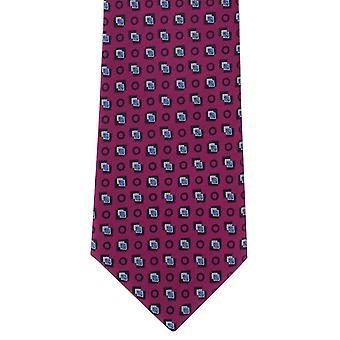 Michelsons London Diamond motiivi Polyesteri tie - vaaleanpunainen