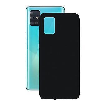 Caso do celular com TPU Edge Samsung Galaxy A71 Contato Flex
