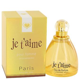 Je T'aime Eau De Parfum Spray By YZY Perfume 3.3 oz Eau De Parfum Spray