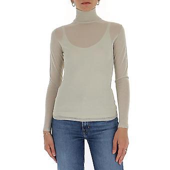 Max Mara 13810201600053001 Mulheres's Suéter de Algodão Cinza