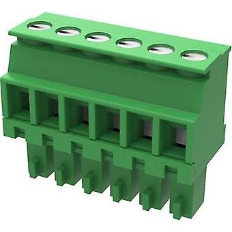 Gabinete Degson Pin - cabo 15EDGKA Número total de pinos 2 Espaçamento de contato: 3,50 mm 15EDGKA-3.5-02P-14-100AH 1 pc(s)