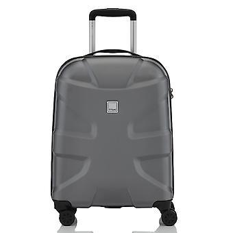 TITAN X2 Model 2017 Handbagage Trolley S, 4 wielen, 55 cm, 40 L, grijs