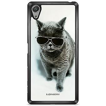 Bjornberry شل سوني Xperia X - نظارات القط