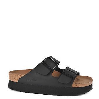 Birkenstock Arizona Papillio Black Vegan Platform Sandal